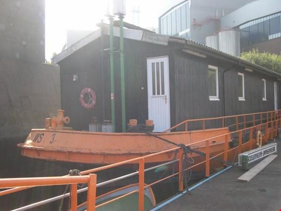 Used HPA Hamburg Port Authority ex hopper barge Living barge