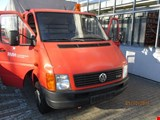 Volkswagen LT CDI  truck double cabin flat bed boards lifting platform