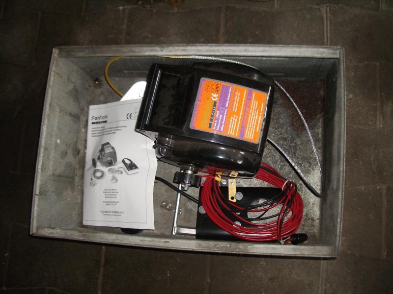 Fantom E Z Pull Ou 603 Elektrische Seilwinde Gebraucht
