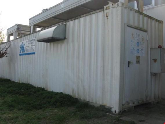 Mobile NH3-(Ammoniak)-Kälteanlage im Seecontainer gebraucht ...