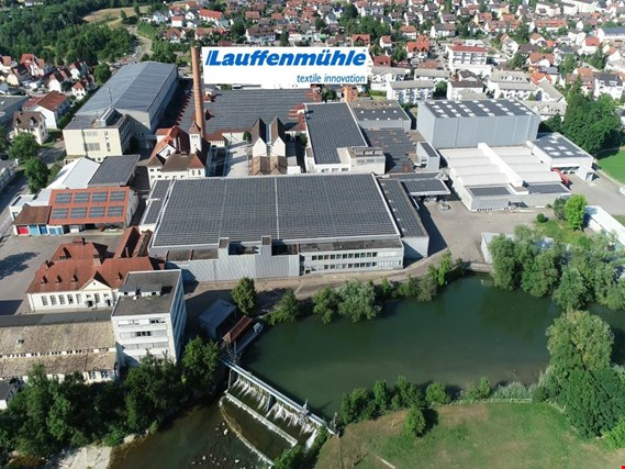 Comprehensive machinery from the sections spinning, weaving - Location 79787 Lauchringen