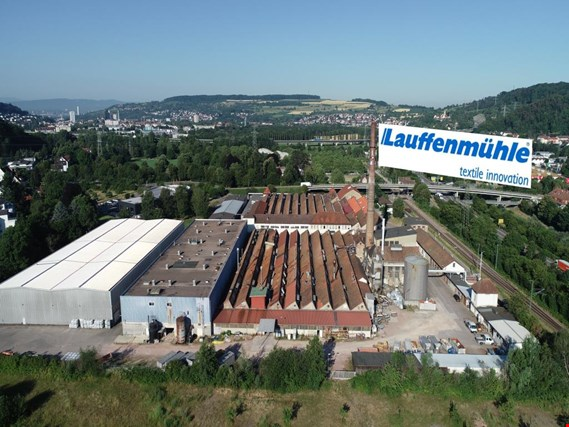 comprehensive machinery from the sections pretreatment, dyeworks, finishing - Location 79541 Lörrach