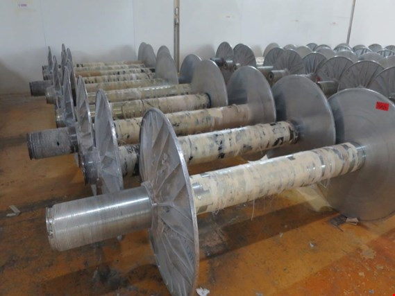 Used 1 Posten warp beams for Sale (Trading Premium) | NetBid Industrial Auctions