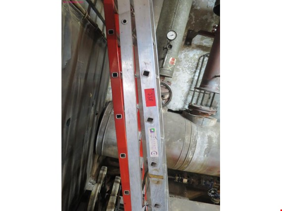 Used 3 aluminium folding ladders for Sale (Trading Premium) | NetBid Industrial Auctions