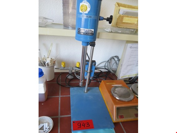 Used Janke Ultra Torax electr. stirring rod for Sale (Trading Premium)