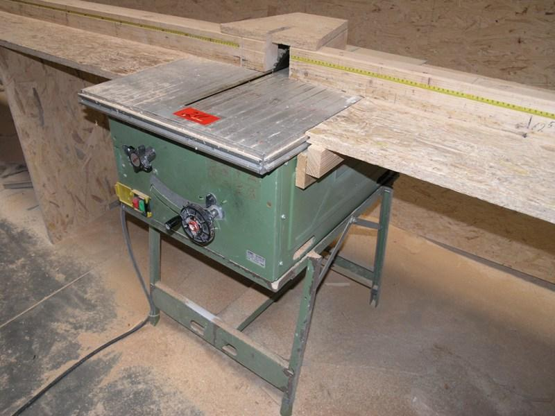 Used Mafell Erika 70 Table Circular Saw For Sale Local Auction