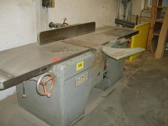Used Aldinger US 10 surface planing machine for Sale