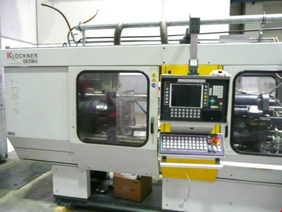 Used Klöckner 969 160 Desma Gummispritzmaschine for Sale
