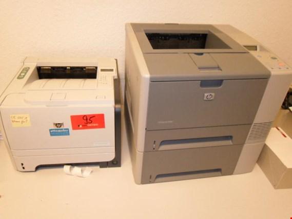 Used HP LaserJet P 2055 DN laser printer for Sale (Auction