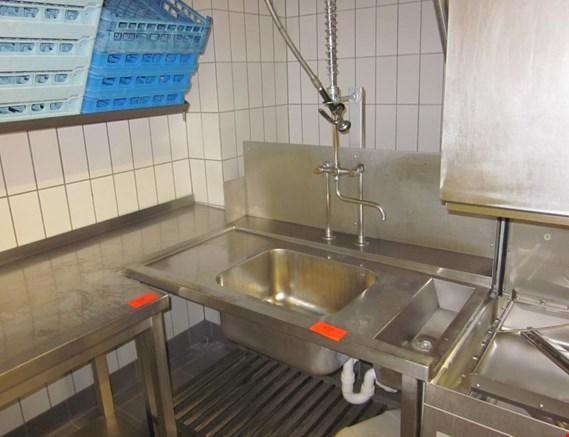 spülküche komplett u.a. mit haubenspülmaschine