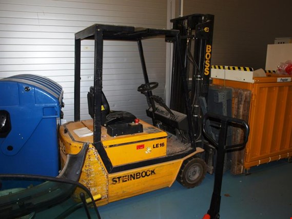 Used Steinbock LE16 electric forklift for Sale (Auction Premium)