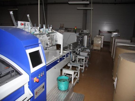used book block production line, platesetter CTP