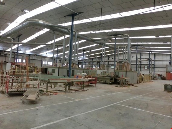 Used A  Costa wood window production plant for Sale (Trading