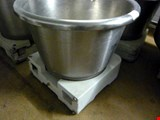 stainless steel kneading bowl