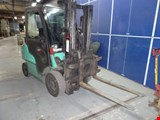 Mitsubishi FG25N gas-powered forklift truck