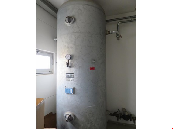 Used Lohenner compressed air tank for Sale (Online Auction)