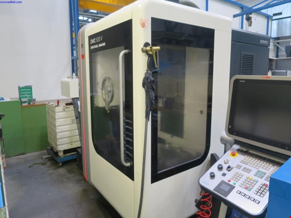 Used Deckel Maho DMC 635 V CNC universal milling machine for Sale (Auction Premium) | NetBid Industrial Auctions