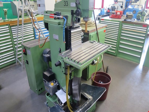 Used Deckel FP 1 Universal drilling/milling machine for Sale (Auction Premium) | NetBid Industrial Auctions