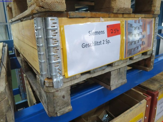 Used 1 Posten Clamping device Siemens slotted 2 sp. for Sale (Auction Premium) | NetBid Industrial Auctions
