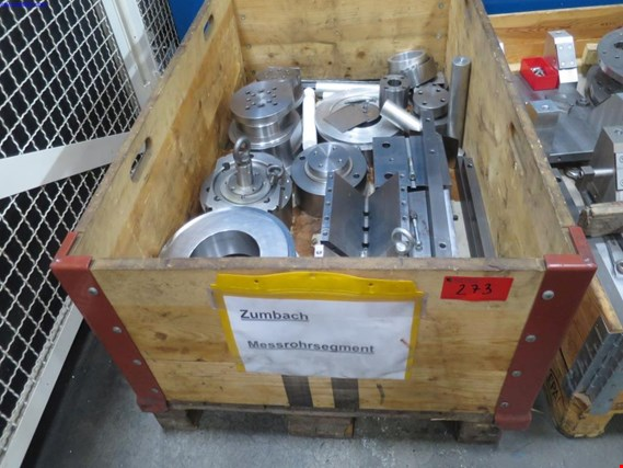 Used 1 Posten Clamping device Zumbach measuring tube segment for Sale (Auction Premium) | NetBid Slovenija