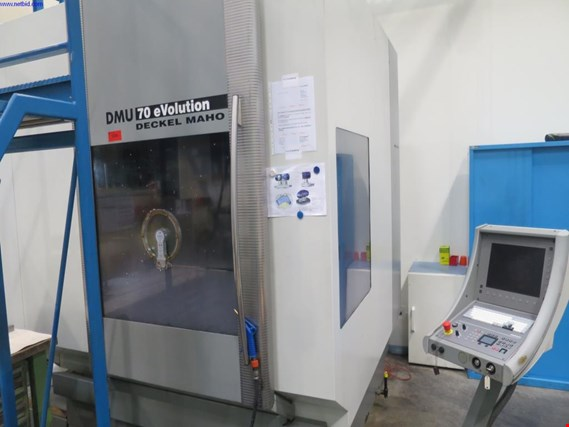 Used Deckel Maho DMU 70 eVolution CNC universal milling machine for Sale (Auction Premium) | NetBid Slovenija