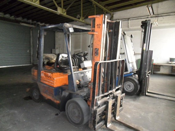 Used Toyota 5 FD 25-41 Diesel forklift truck for Sale