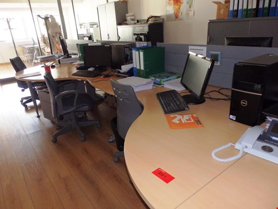 Office Furniture 6 Workplaces W Pc