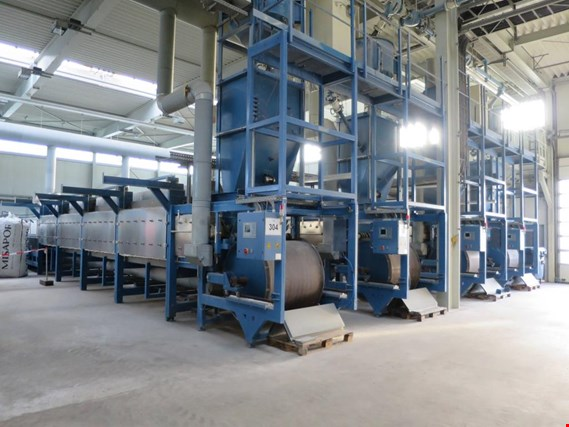 Machinery and equipment for the manufacture of cellular glass (foam glass gravel)