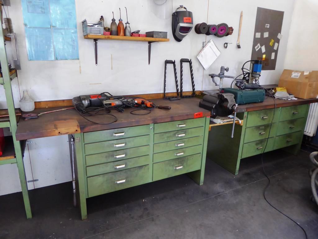 werkbank gebraucht kaufen auction premium. Black Bedroom Furniture Sets. Home Design Ideas