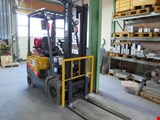 TCM FG15T13 fuel gas fork lift truck