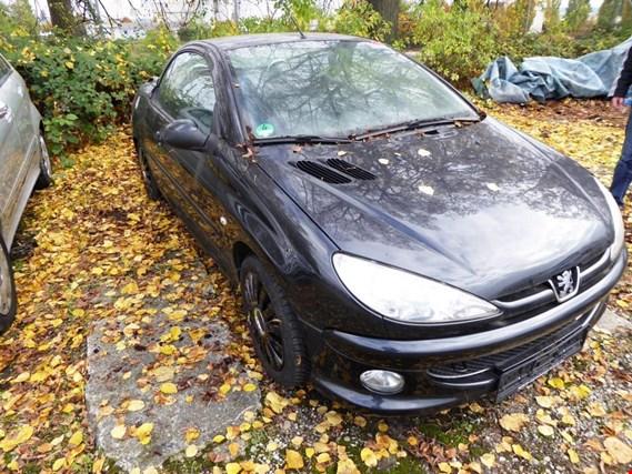Peugeot 206 Cc 1 6 Cabrio Pkw Gebraucht Kaufen Auction Premium