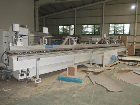 Cable recycling line