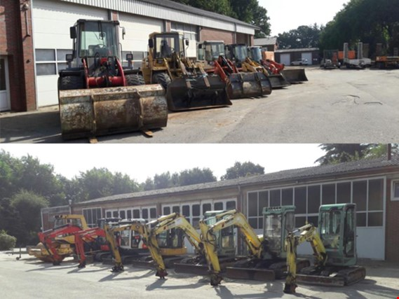 well-maintained construction machinery, equipment and vehicles