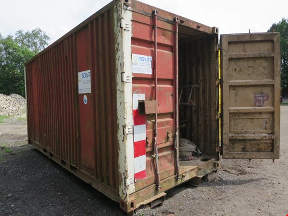 Used 20´-Haken-Abrollseecontainer for Sale (Auction Premium) | NetBid Industrial Auctions