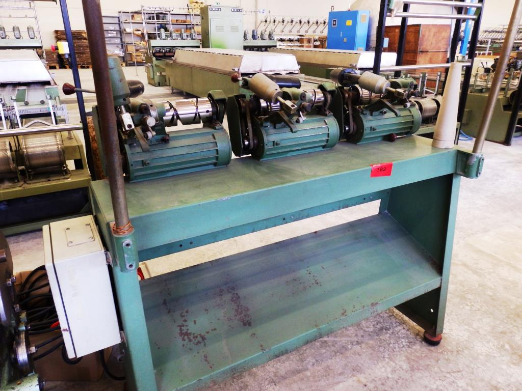Winding machine, 3 spindles
