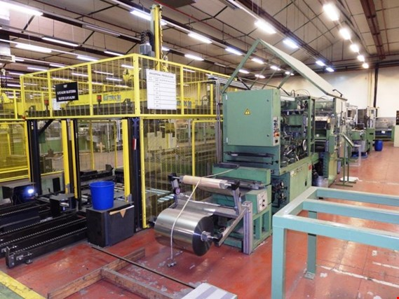 packaging plants and blister packaging lines for batteries
