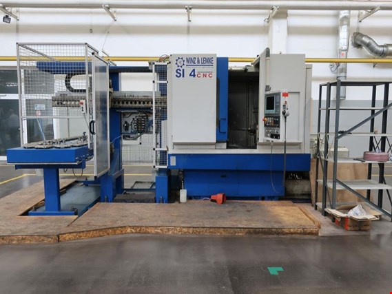 Winz & Lemke SI 4 CNC CNC internal cylindrical grinding machine - Sale under reserve!  (Trading Premium)