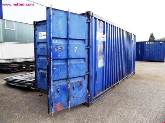 seecontainer gebraucht kaufen auction premium netbid industrie auktionen. Black Bedroom Furniture Sets. Home Design Ideas