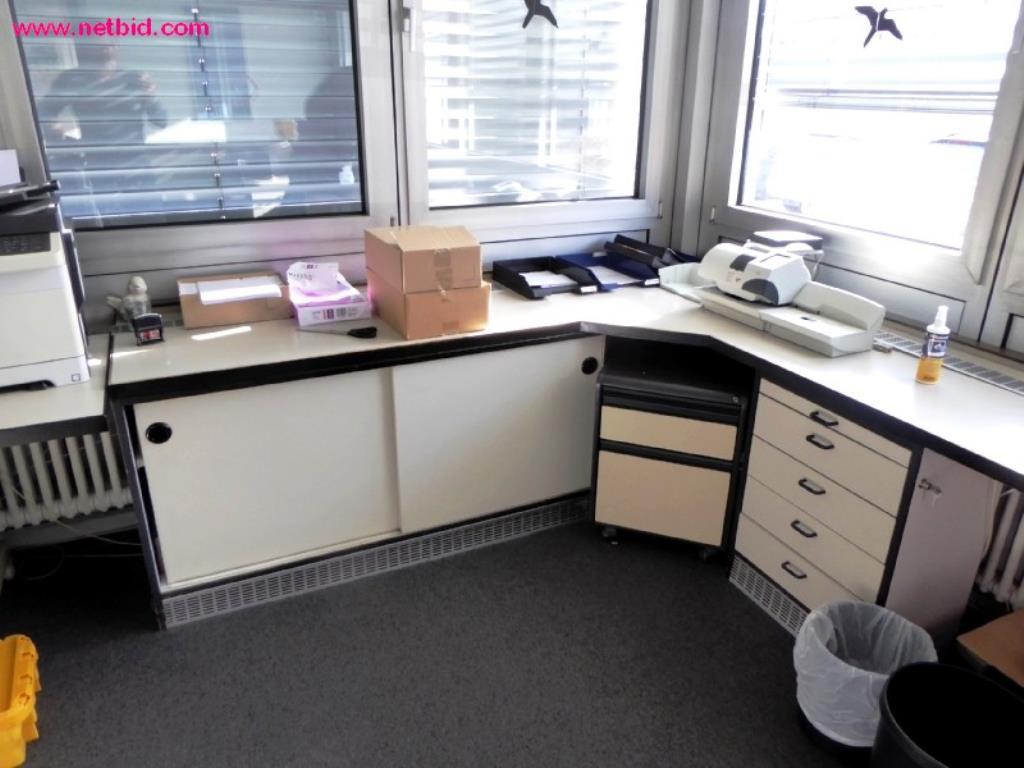 schreibtisch winkelkombination gebraucht kaufen trading. Black Bedroom Furniture Sets. Home Design Ideas