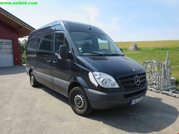 mercedes benz sprinter 319cdi 906 ka 35 transporter. Black Bedroom Furniture Sets. Home Design Ideas