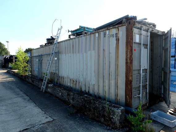 Used sea container for Sale (Trading Premium) | NetBid Industrial Auctions