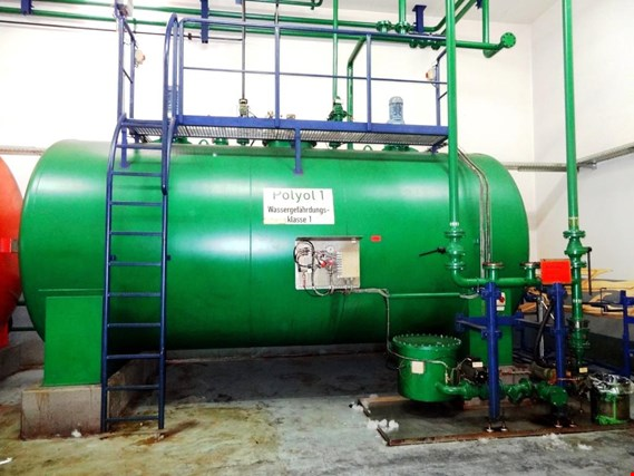 component tank depot for polyol a. isocyanate  (Trading Premium)