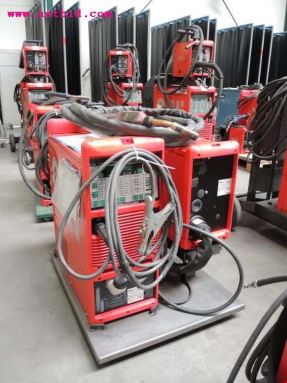 Used Fronius Transpuls Synergic 3200 Inert gas welding unit, #211 for Sale (Auction Premium)