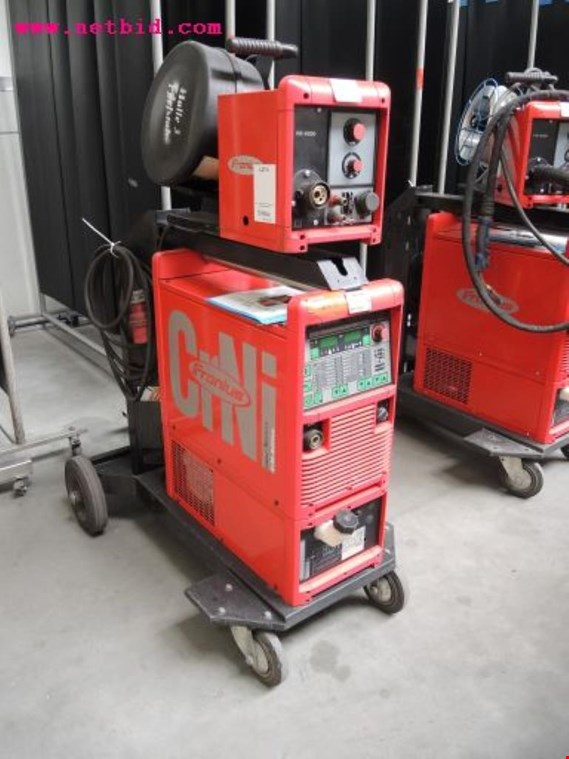 Fronius Transpuls Synergic 4000 Inert gas welding unit, #213  (Auction Premium)