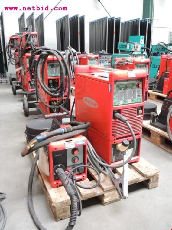 Used Fronius Transpuls Synergic 4000 Inert gas welding unit, #214 for Sale (Auction Premium)