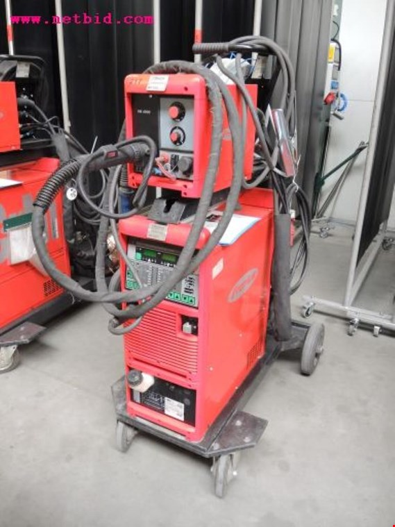 Used Fronius Transpuls Synergic 4000 Inert gas welding unit, #217 for Sale (Auction Premium)