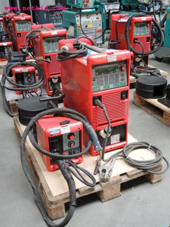 Used Fronius Transpuls Synergic 4000 Inert gas welding unit, #218 for Sale (Auction Premium)