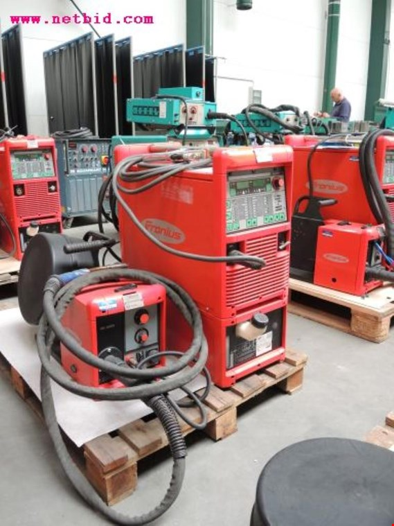 Used Fronius Transpuls Synergic 4000 Inert gas welding unit, #219 for Sale (Auction Premium)