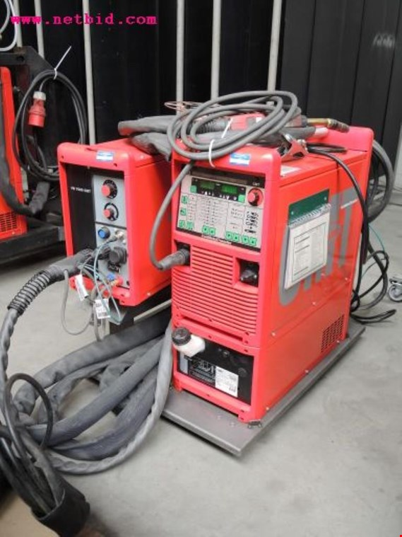 Used Fronius Transpuls Synergic 3200 Inert gas welding unit, #221 for Sale (Auction Premium)