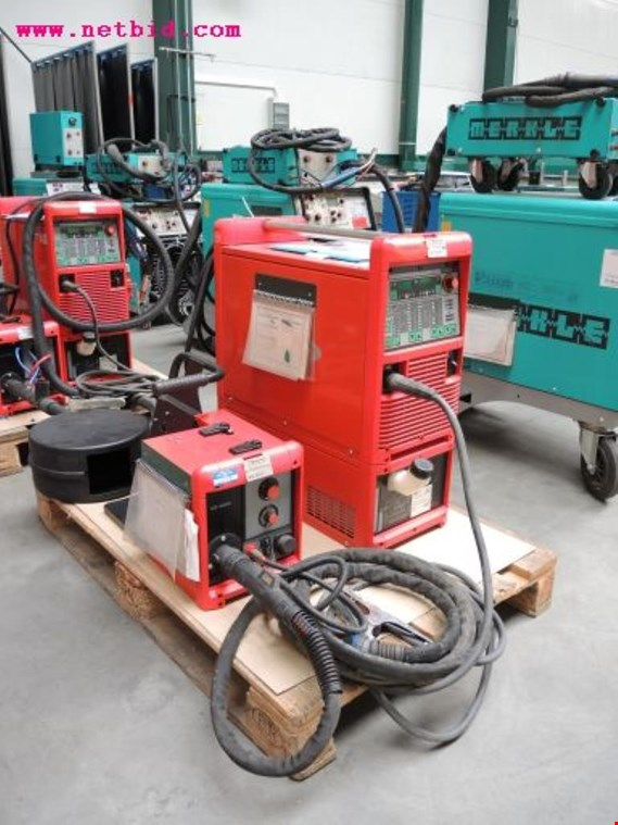 Used Fronius Transpuls Synergic 4000 Inert gas welding unit, #222 for Sale (Auction Premium)